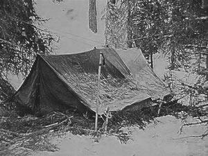 Campamento abandonado