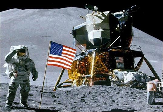 Doce astronautas han pisado la Luna hasta la fecha