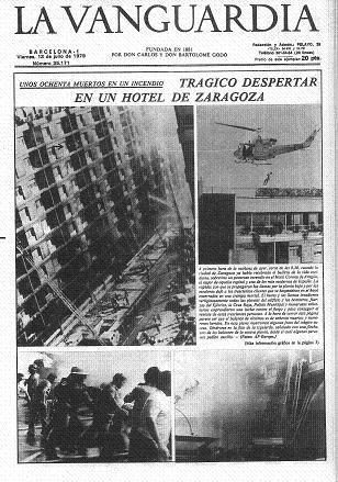 Portada de La Vanguardia