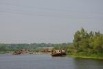 Embarcaciones usadas el día del accidente