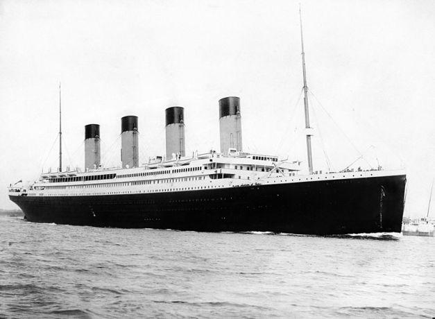 El Titanic, orgullo de la compañia White Star Line