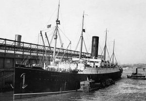 El Carpathia, buque que rescató a los supervivientes del Titanic