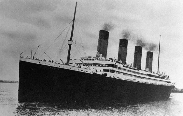 El Titanic el día de su viaje inaugural
