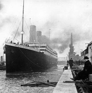 El Titanic en Southampton