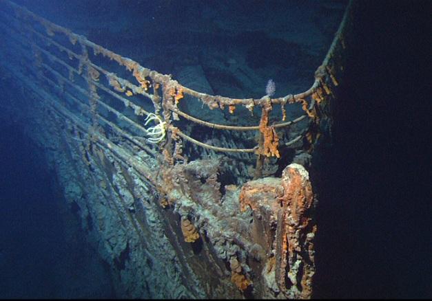 Proa del Titanic